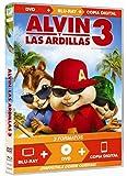 Alvin Y Las Ardillas 3 Dvd  (Dvd+Bd+Copi
