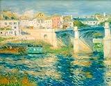 Kunstdruck/Poster: Pierre Auguste Renoir Die Brücke von