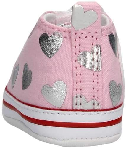 Converse Scarpe Baby Sneakers Chuck Taylor all Star in Tela Rosa ...