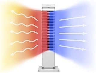 Clean Air Optima Ventilador y Calefactor CA-904W - 40m2 / Temporizador/Mando a Distancia/Verano e Invierno