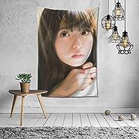 齋藤飛鳥 タペストリー 壁掛け ポスター 背景布 壁飾り 家 リビングルーム ベッドルーム 部屋 おしゃれ 100*150cm