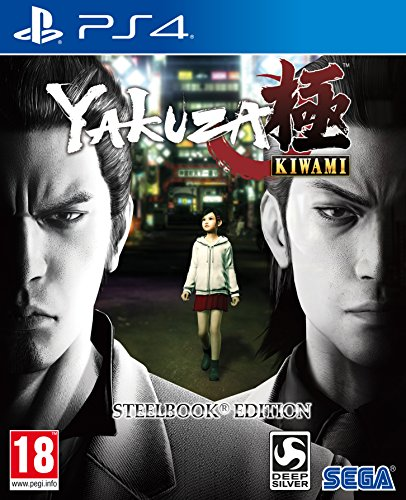 Yakuza Kiwami Steel Book Edition (PlayStation 4) [importación inglesa]