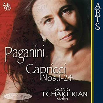 Paganini: 24 Capricci op. 1 for solo Violin