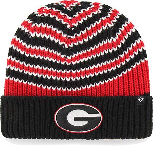 georgia bulldog knit hat - 8