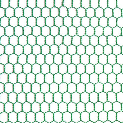 工作用ネット 亀甲金網 グリーン 10160140 線径0.85mm 450幅x1m