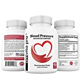 Advanced Blood Pressure Support Formula - Improved Bioavailability - Passion Flower and American Ginseng Blend with CoQ10 for Healthy Heart and Vessel - 90 Capsules