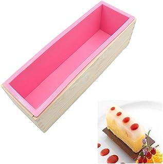 bestonzon Moule pour Cake et toasts en silicone couleur al/éatoire