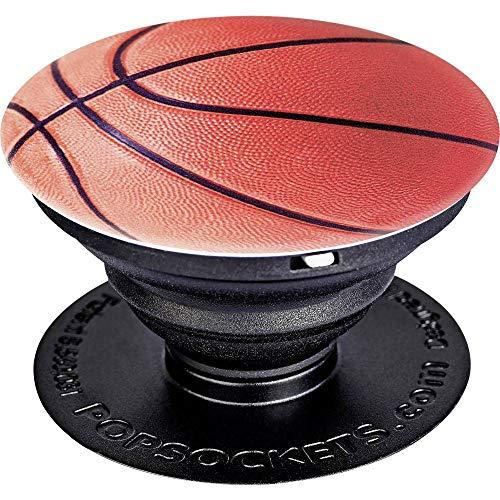 PopSockets - Ausziehbarer (Nicht Austauschbarer) Sockel und Griff für Smartphone und Tablet - Basketball