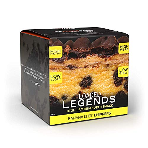 The Protein Works Loaded Legends Protein Bars | Alto en Proteínas, Snack...