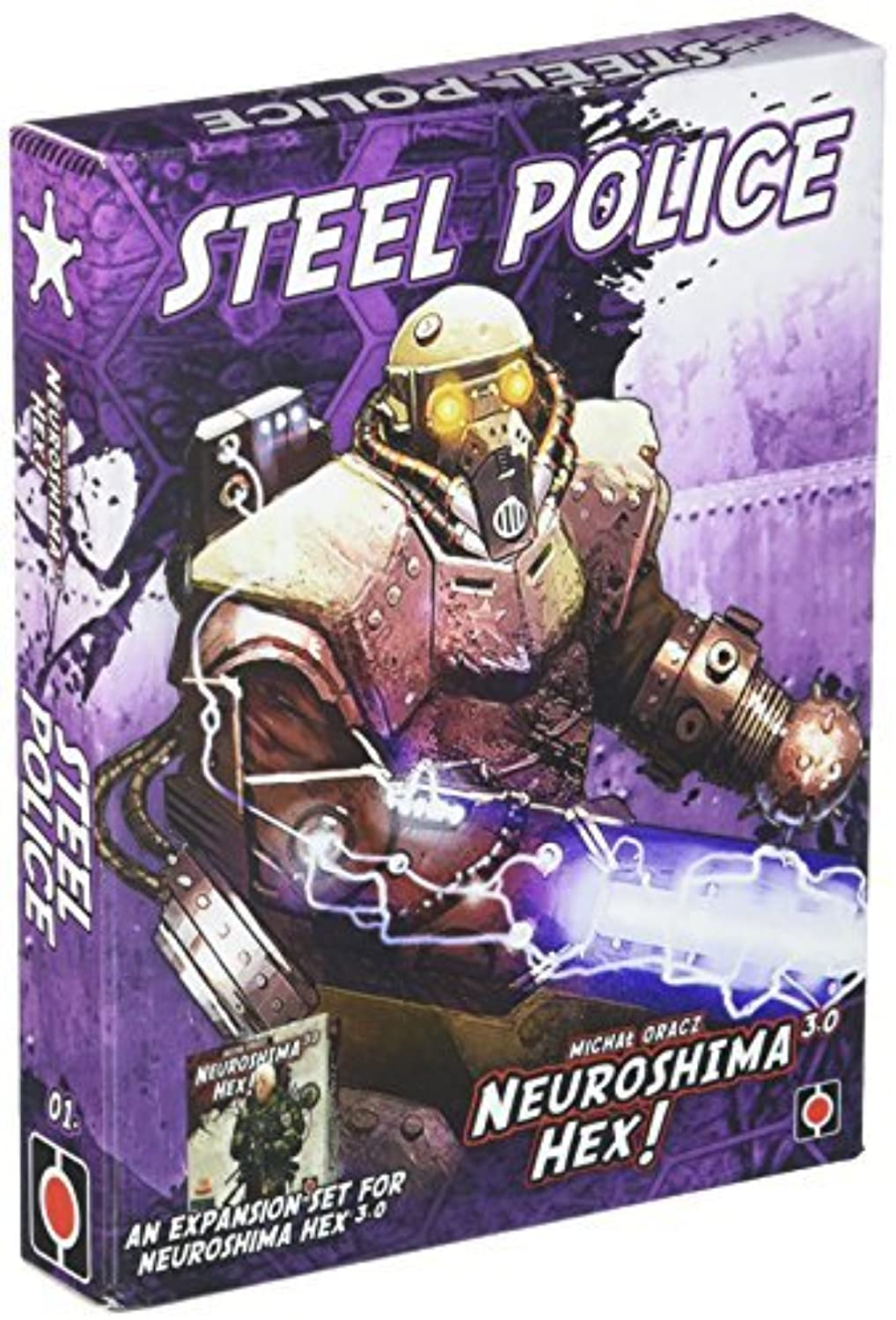 Neuroshima Hex 3.0 Steel Police Board Game by Portal Games