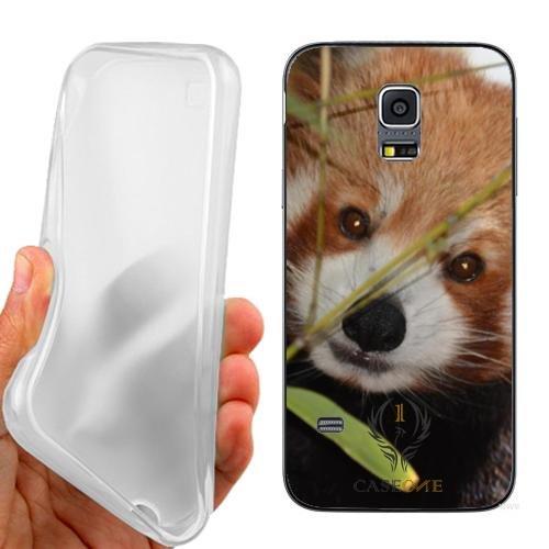 Custodia Cover Case Orsetto Curioso per Samsung Galaxy S5 Mini G800