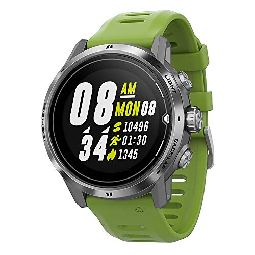 COROS APEX Pro Premium Multisport GPS Watch with Heart Rate Monitor, 40h Full GPS Battery, 24/7 Blood Oxygen...
