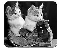 オフィスのマウスパッドのかわいい猫は総本店の働きのためのマウスパッドを起動します