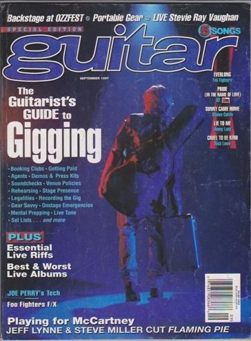 Guitar Magazine (September 1997) (Guitarist's Guide to Gigging - Backstage at OZZFEST)