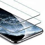 FullProtecter Protector de Pantalla para Samsung Galaxy M40,[2Pack] Samsung Galaxy M40 Cristal Templado Vidrio Templado película Protectora [dureza 9H][Anti-Arañazos]
