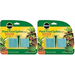 miracle gro indoor plant food spikes for houseplants