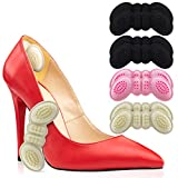 Heel Cushion Insert Shoe Pad for Womens Shoes or Mens, 4 Thick Pairs of High Heel Insert Shoe Pads Grips for Loose or Too Big Shoes, Foot Insoles Protectors Gap Filler