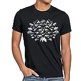 style3 Sheldon Monsters Herren T-Shirt Dinosaurier
