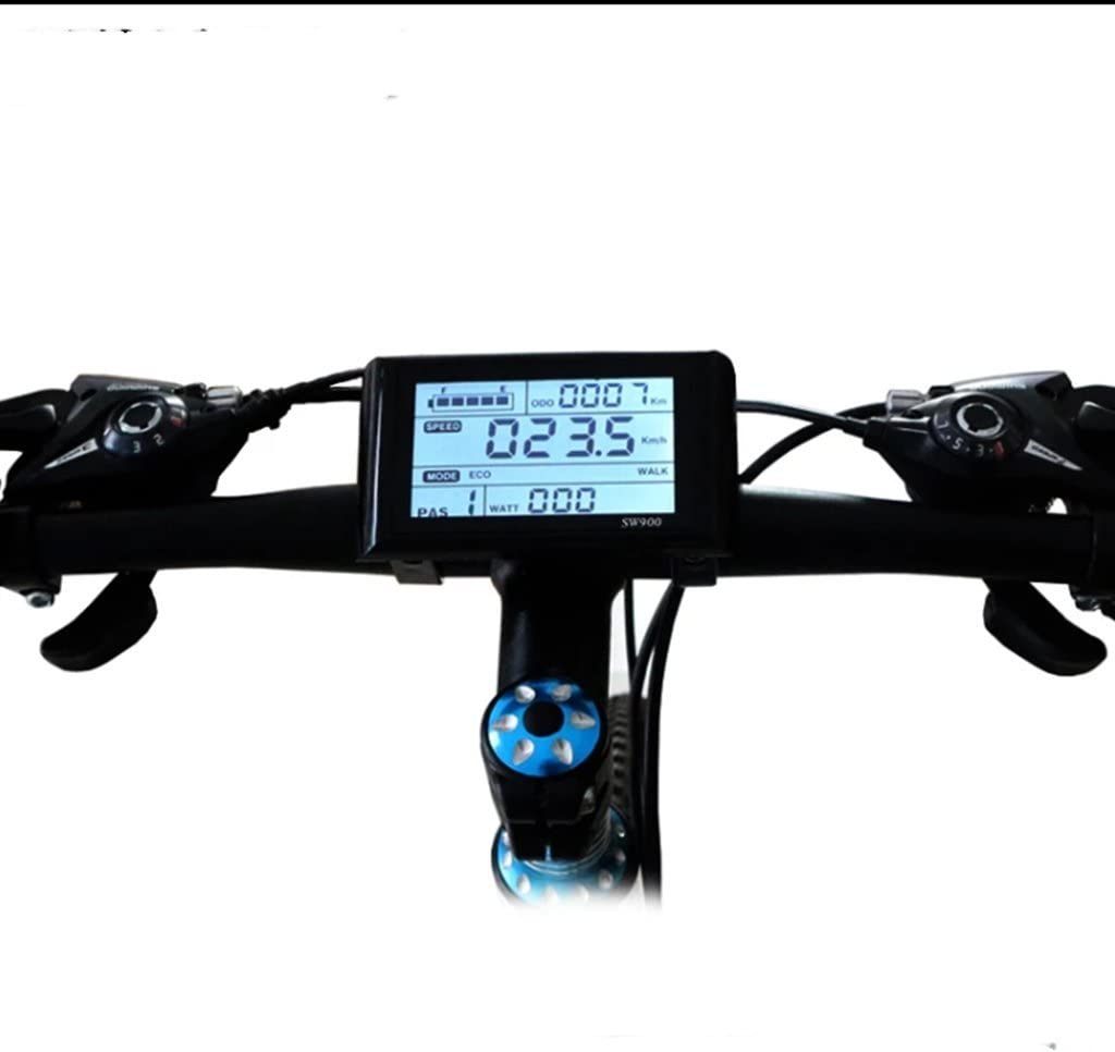 Spring new work one after another NBpower 48V 72V SW900 LCD Display Used Electric E-Bike for Kit Ranking TOP19