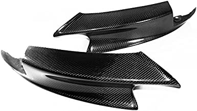 Real Carbon Fiber Front Bumper Lip Splitters for BMW 2007-2013 E90 E92 E93 M3 Sedan/Coupe/Convertible