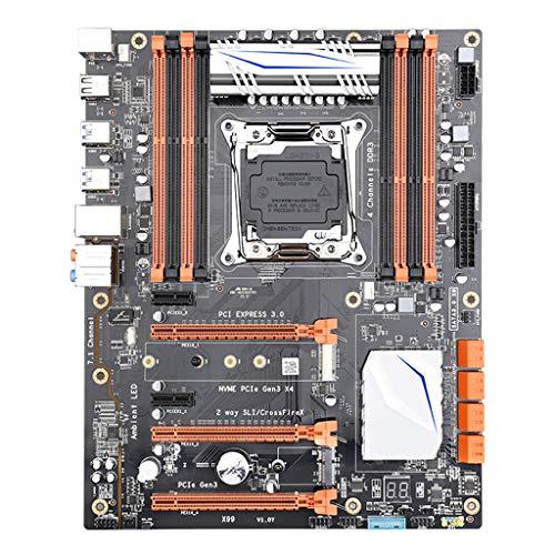LuohuiFang X99 Lga 2011-V3 - Placa base (4 canales, Ddr3 256 G, M.2 SSD, Sata3.0, Usb3.0, Pcie 16X, para I7 E5-V3 2678 2669 2649)