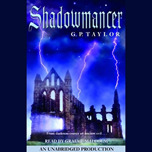 Shadowmancer audiobook cover art