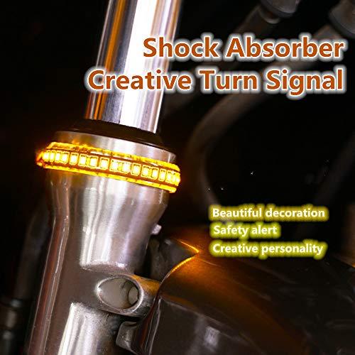 25cm 24 LED Étanche LED Moto Néon Lumière Bande De Voiture Motos Lumière Décorative Pour La Voiture motos Décoration Lampe Ampoules 2pcs