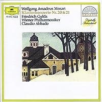 Mozart: Piano Concertos Nos. 20 & 21 by GULDA / VIENNA PHIL ORCH / ABBADO (1987-03-01)