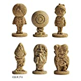 妖怪砂フィギュア 6体全種セット モルタルマジック 砂 置物 オブジェ 砂像