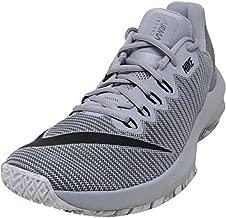 Nike Men's Air Max Infuriate Low Basketball Shoe, Wolf Grey / Black / Cool Grey, 8.5