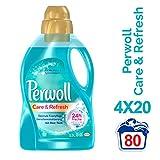 Perwoll Care & Refresh Spezialwaschmittel (für alle Misch- & Synthetikfasern) 4er Pack (4 x 20...