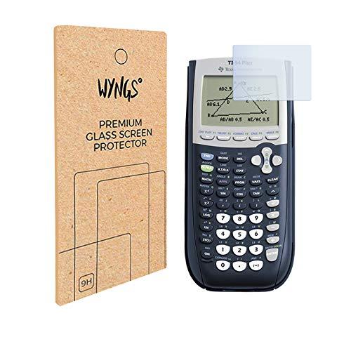 Panzerglas Displayschutzfolie kompatibel mit Texas Instruments TI 84 Plus (2 Stück)