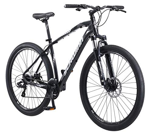 Schwinn Taff Mountain Bike, 24-Speed, 29-inch Wheels, Mens Frame, Black