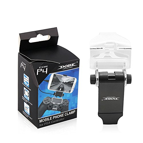 Childhood Mobile phone Clamp Cellphone Mount Clip Holder for PS4 Controller