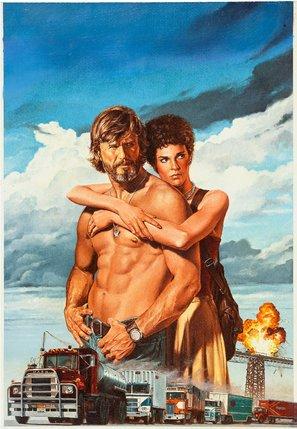 Convoy – Kris Kristofferson – Textlos Film Poster Plakat Drucken Bild – 43.2 x 60.7cm Größe Grösse Filmplakat