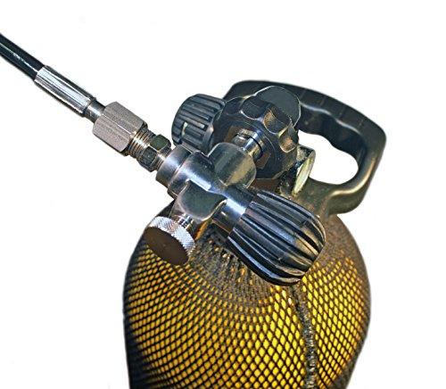 METALSUB compressor met kraan DIN200/300, 1/4 inch BSP