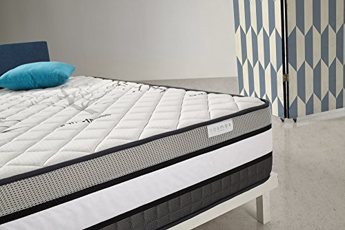 COSMOS | Solar | Colchón 135x190 cm | Viscoelástico | Grosor 30 cm | Firmeza Alta | Transpirable Ergonómico y Máxima Adaptabilidad | 7 Zonas de Descanso | Disponible en Todas Las Medidas