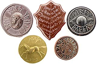 Shire Post Mint The Lord of The Rings Set 1: Five Coins from Middle-Earth