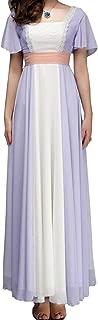 Womens Titanic Rose Chiffon Celebrity Dress Party Evening Princess Dress Costume Custom