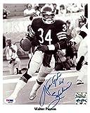 Walter Payton Autographed 8x10 Photo Chicago Bears'Sweetness' PSA/DNA Stock #76028