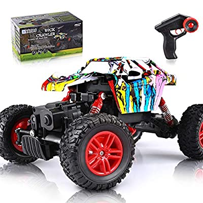 VATOS RC Cars Off Road Remote Control Trucks 4WD High Speed All Terrain Monster Truck for Adults and Kids