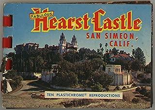 William Randolph Hearst Castle - San Simeon California - Miniature Souvenir Postcard Photo Album - Plastic Comb