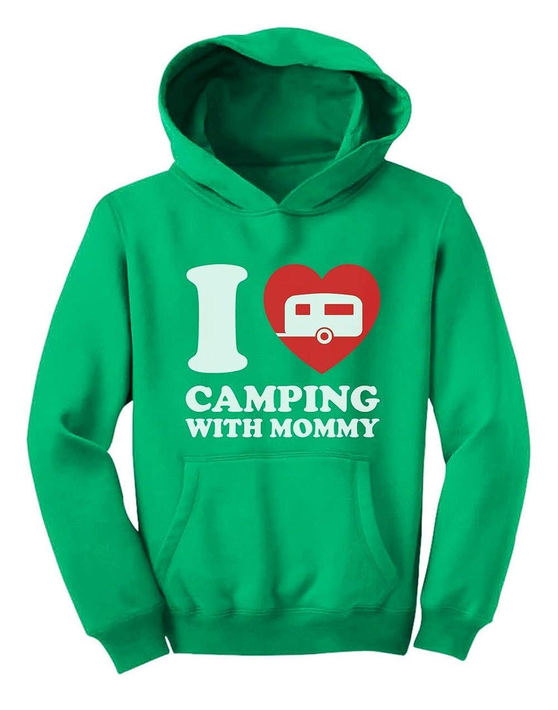 Tstars - 可愛いママとキャンプキッズシャツ キュートママとキャンプキッズシャツ スイートママとキャンプキッズシャツ 可愛いキッズシャツ キッズパーカー