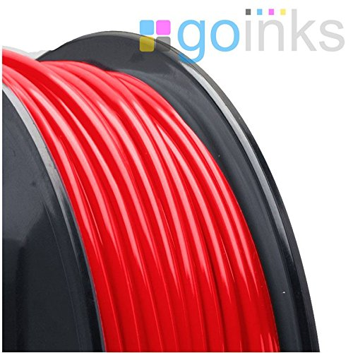 Go Inks 500g (0.5kg) Red 1.75mm ABS 3D Printer Filament Spool