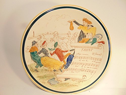 Vernon Kilns French Reproduction 'FAUST', 8' Decorative Plate