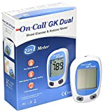 ON CALL GK DUAL Blood Glucose & Ketone Meter Monitering System Monitor