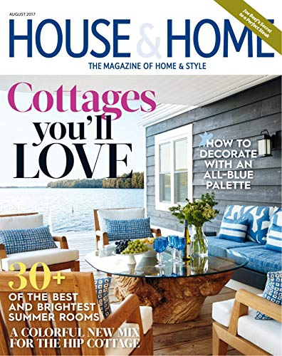 HOUSE AND HOME: DECORATE HOW TO WITH AN ALL-BLUE PALETTE (English Edition)