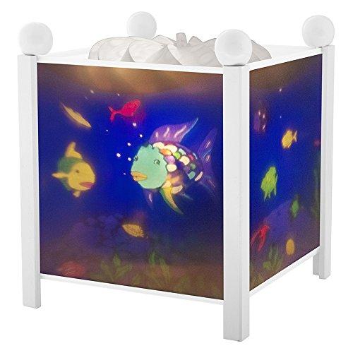 Magische Laterne Regenbogenfisch© - Weiß