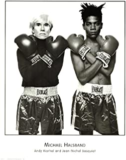 Andy Warhol and Jean Michel Basquiat Art Print Poster By: Michael Halsband