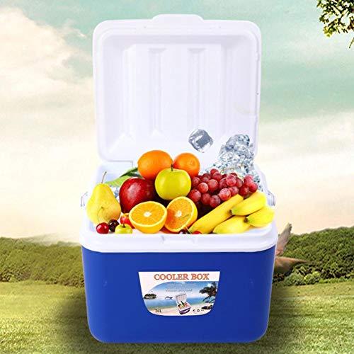 cineman Draagbare koelbox, 5 l in de buitenlucht mini-koelkast, auto-isolatiebox voor thuis, camping, reizen, vissen